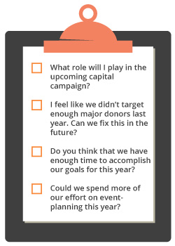 If you need to boost your nonprofit development plan's potential, try a question list.