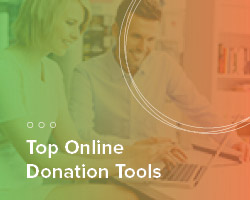 Take a look at these top online donation tools.