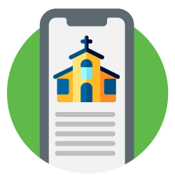 With a church giving app, your members can give anytime, anywhere.