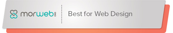 Morweb is the best nonprofit software for web design.