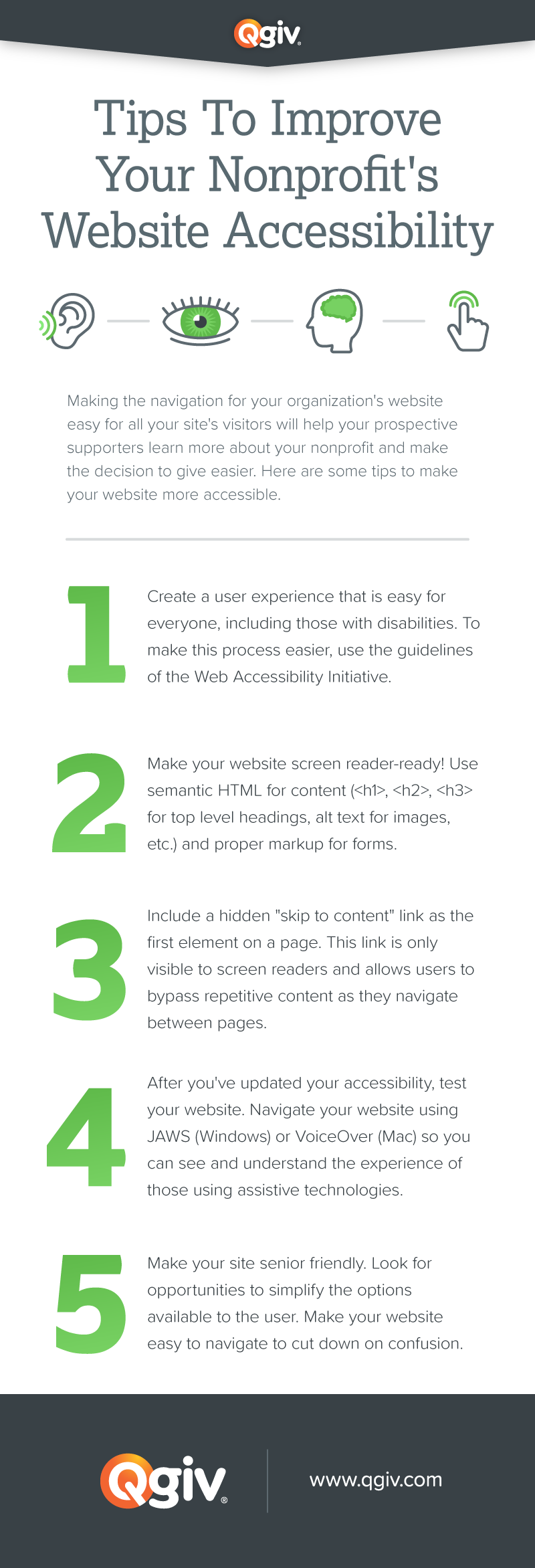 Website Accessibility Infographic
