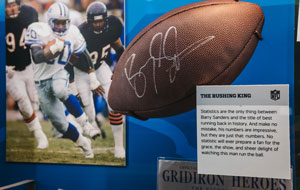 Signed memorabilia is a great auction item idea that will raise a lot of revenue.
