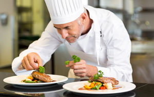 Have a holiday dinner with a chef as an auction item idea.