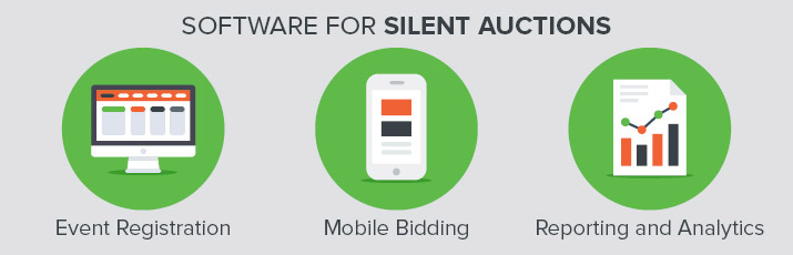 Certain types of software can help make your silent auction a success.