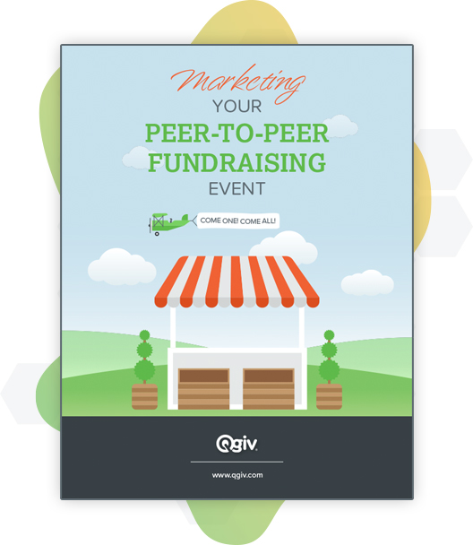 Marketing Your Peer-to-Peer Event eBook cover image.