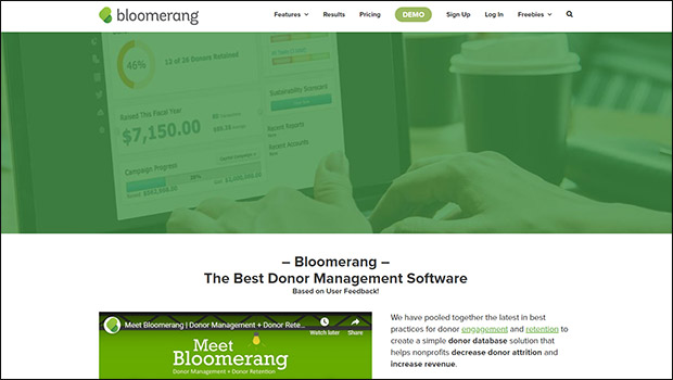 Learn more about Bloomerang's silent auction software solution.