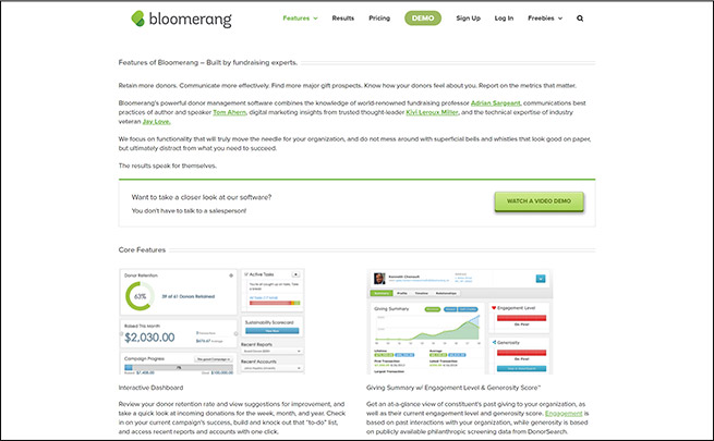 Check out Bloomerang as a top fundraising software for schools.