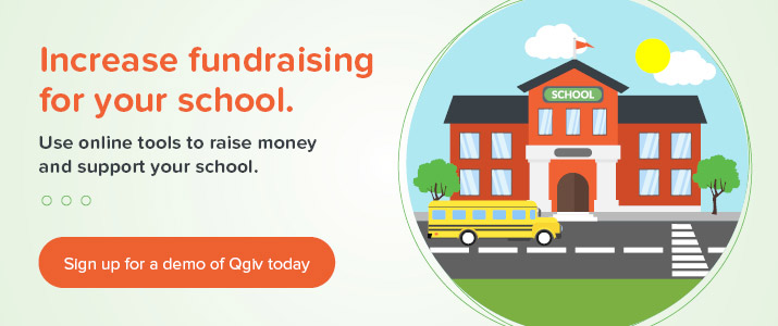 Check out Qgiv for a demo of the top fundraising software for schools.