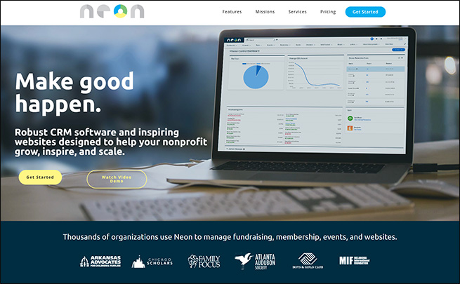 Check out Neon to learn more about this fundraising software for education.