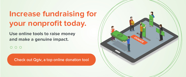 Check out Qgiv's online donation tool and increase fundraising today!