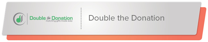 Read on to learn about Double the Donation's online donation tool.