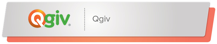 Qgiv provides online donation tools for nonprofits.