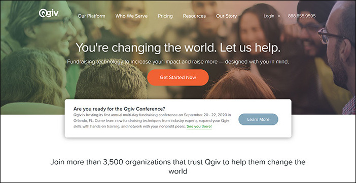 Check out Qgiv's online fundraising software on their website.