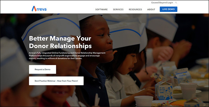 Check out Arreva's website to learn more about MatchMaker, an online fundraising tool.