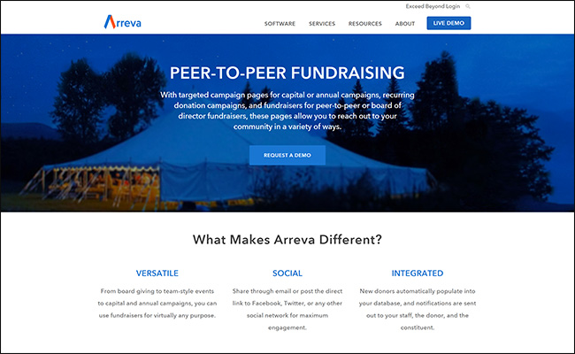 Check out how Arreva's MatchMaker can help your nonprofit's peer-to-peer fundraising efforts.
