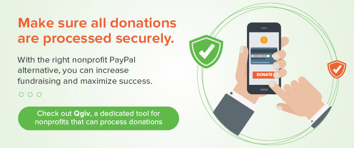 Try Qgiv's demo to learn how this PayPal alternative can help you.
