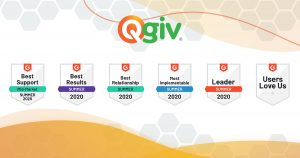 Qgiv Named Fundraising Technology Leader with the Best Results for the Second Consecutive Year by G2 Fall Report