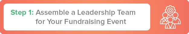 Step one to hosting a walkathon, bikeathon, or runathon is assembling a leadership team.
