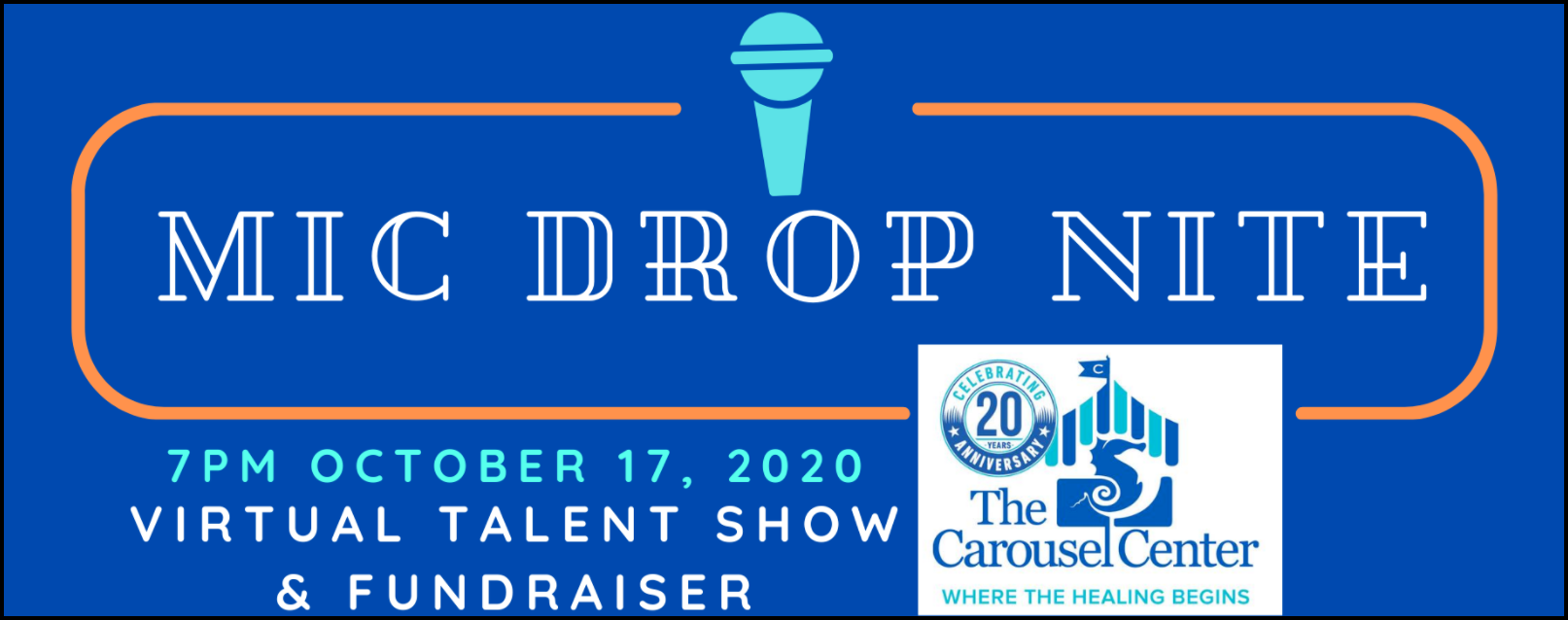 A talent show offers a low-pressure way for participants to fundraise. The Carousel Center's Mic Drop Nite is a creative fundraising appeal that relies on participant skills to raise money.