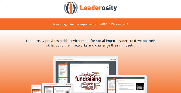 Check out Leaderosity to learn more about the best nonprofit software for learning management.