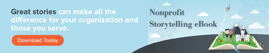 Explore out nonprofit storytelling eBook!