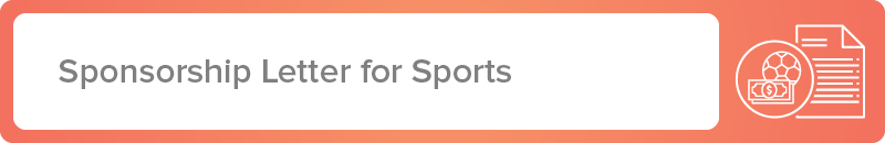 Raise money for your team using this sponsorship letter template for sports fundraising.