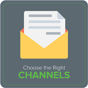 Choose the Right Channels when sending donor thank you letters.