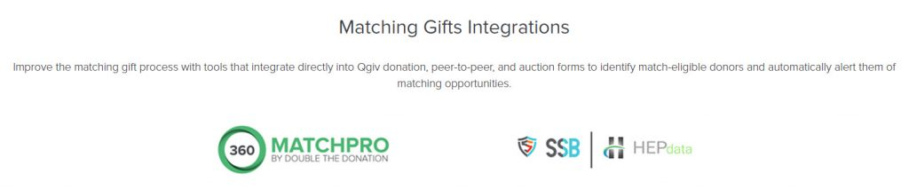 Matching gifts integrations make it easier for donors to apply for gift matches, but it also makes it easy for fundraisers to see who works for match-eligible companies. It's a win-win!