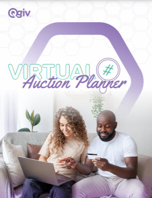 Virtual Fundraising Auction Event Planner Cover Image