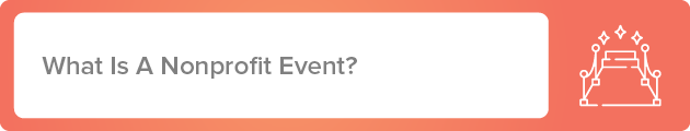 What is a nonprofit event?