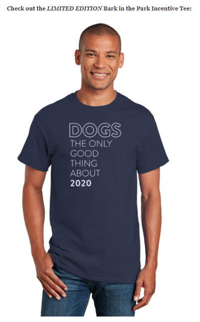 Offering incentives like this exclusive t-shirt can boost fundraising participation at peer-to-peer events.