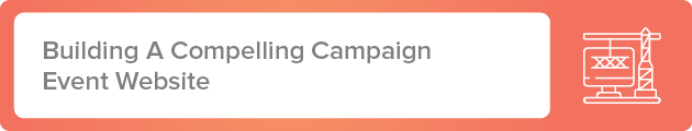 Building A Compelling Faith-based Peer-to-Peer Campaign Event Website
