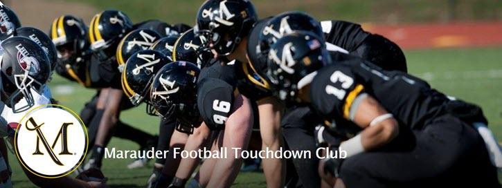 Marauder Football's Touchdown Club fundraising example