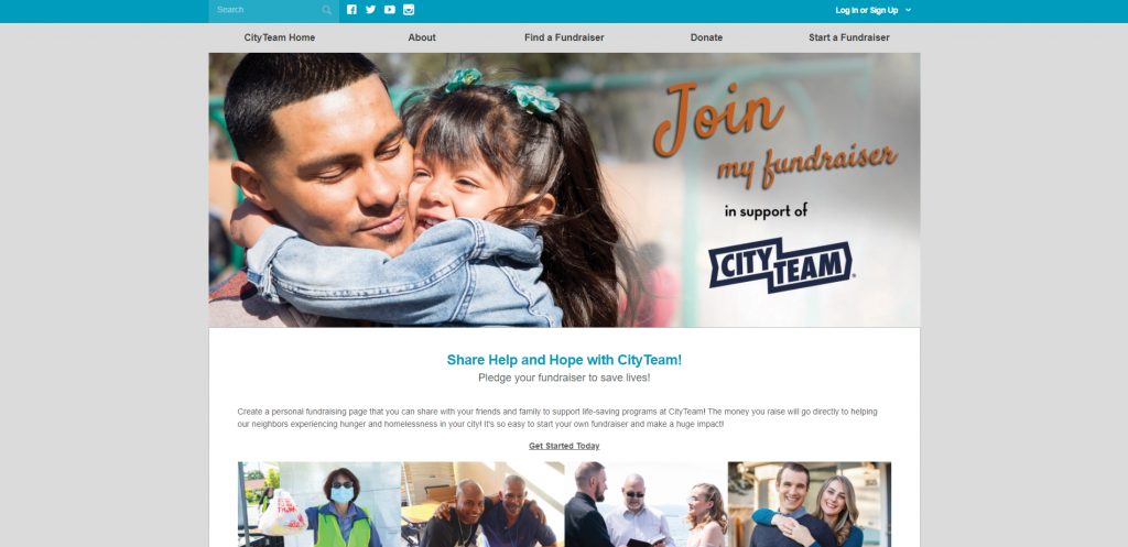 Here's an example of a DIY fundraising event by CityTeam.