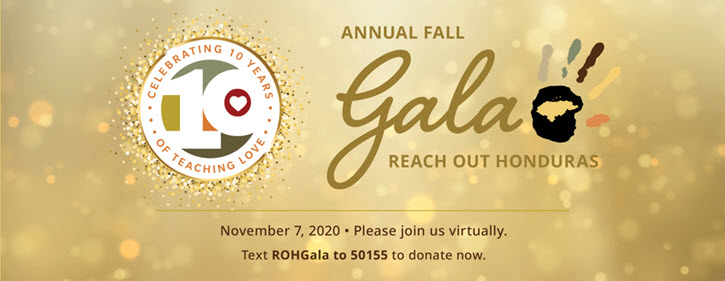 Reach Out Honduras incorporated text message fundraising into their virtual gala
