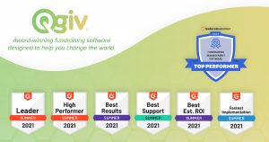 Qgiv Named Top Nonprofit Fundraising Software by G2 and FeaturedCustomers