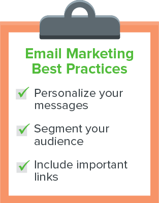 Try these email marketing best practices to get more donations!
