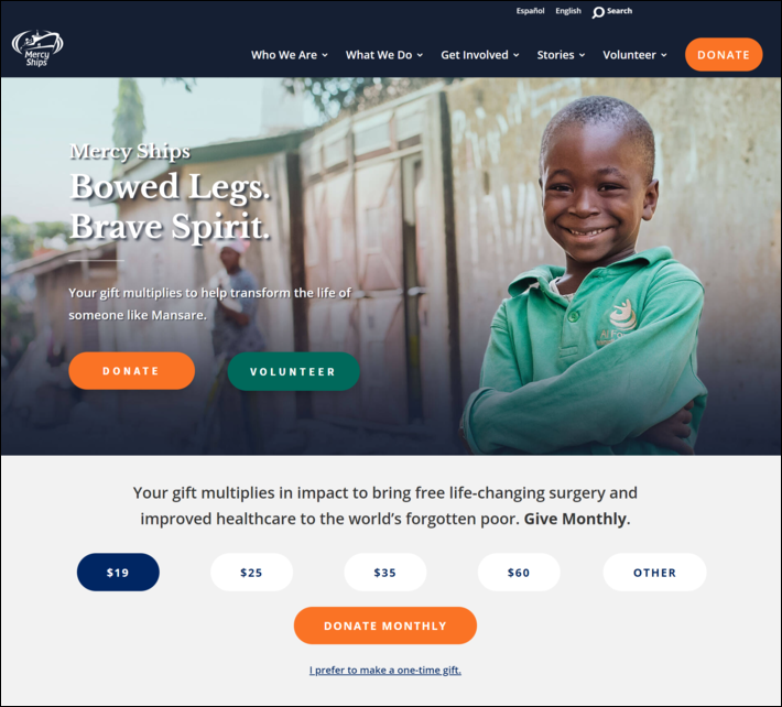This is an en example of an effective header image that can inspire you to use plan great images into your nonprofit marketing efforts.